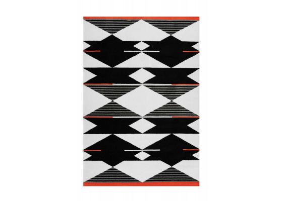 Ковер Broadway 500 Black/White/Red 160х230