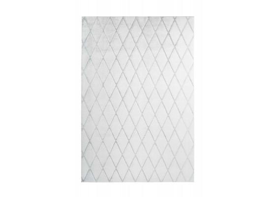 Ковер Vivica 225 romb White/GreyBlue 160х230