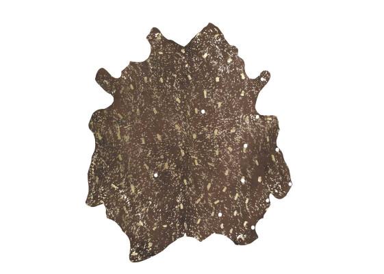 Ковер Glam 110 Brown/Gold 135x165