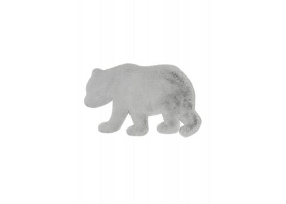 Ковер Lovely kids Bear grey/blue 53 x 90