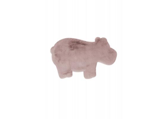 Ковер Lovely Kids Hippo Pink 55x90