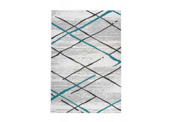 Ковер Vancouver 110 White/Grey/Turquoise 160х230