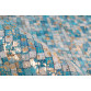 Ковер Finish 100 Turquoise/Gold 120x170