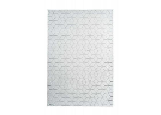Ковер Vivica 125 geo White/GreyBlue 80х150