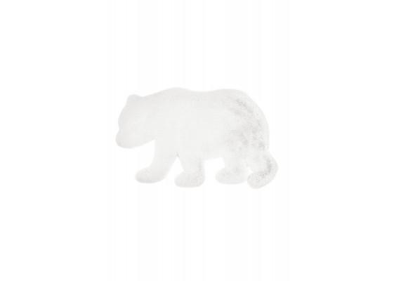 Lovely kids Bear white 53 x 90