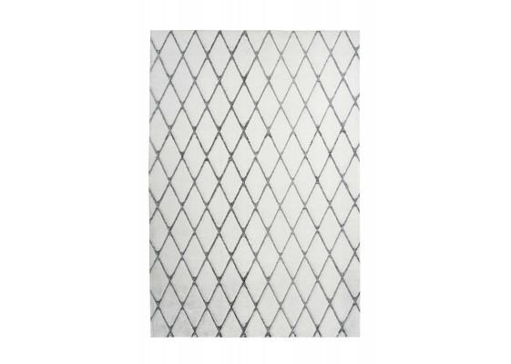 Ковер Vivica 225 romb White/Antracite 80х150