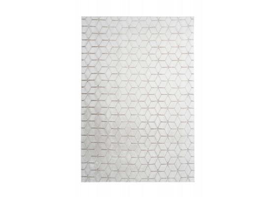 Ковер Vivica 125 geo White/Taupe 160х230
