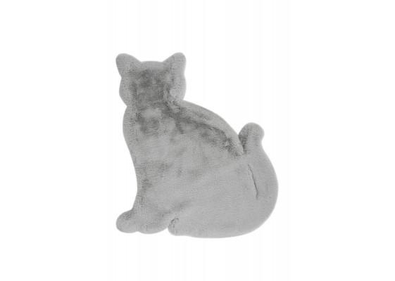 Ковер Lovely Kids Cat Grey/Blue 81x90