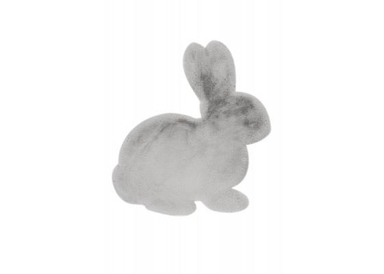 Ковер Lovely Kids Rabbit Grey/Blue 80x90