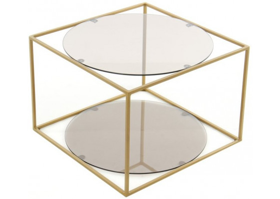 Стол Cube SM110 Grey/Gold