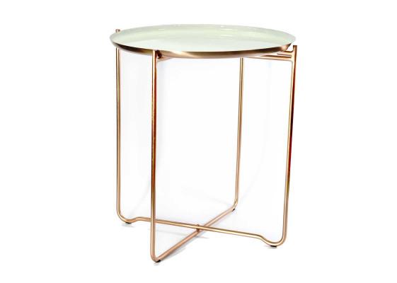 Стол Elsa M910 White/Copper