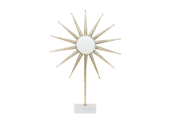 Скульптура Sun MK487 White/Gold