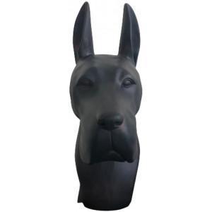 Скульптура Great Dane Black