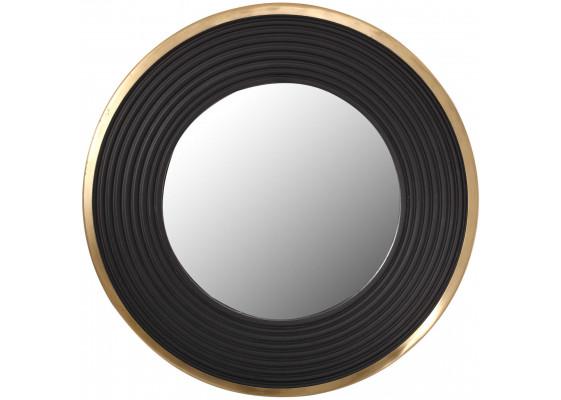Настенное зеркало Round 825 Gold/Black Ø 51 cm