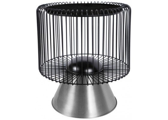 Стол Spider M125 Black/Silver