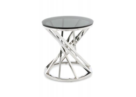 Стол Favor SM125 Black/Silver