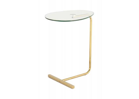 Стол Hampton SM525 Gold/Clear