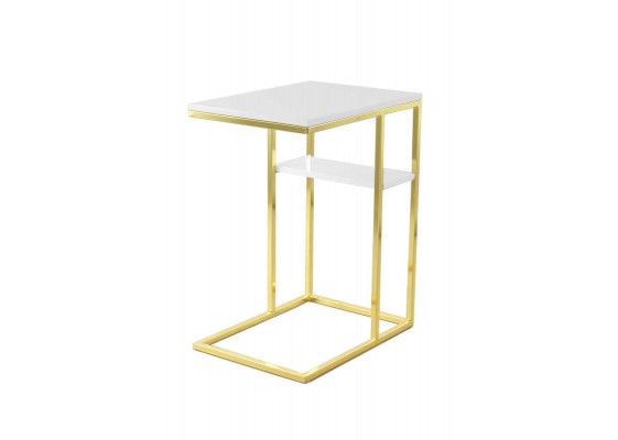 Стол Eric DM110 White/Gold