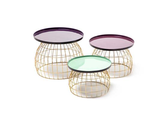 Набор столов Tristan M260/3 Plum/Purple/Lightgreen