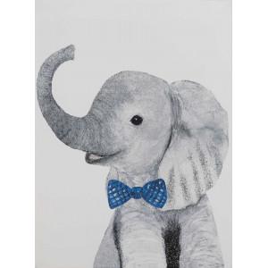 Картина Elephant gentelman 50х70 cm