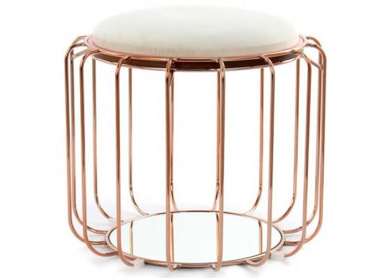 Табурет-стол Carl SM110 Beige/Rose