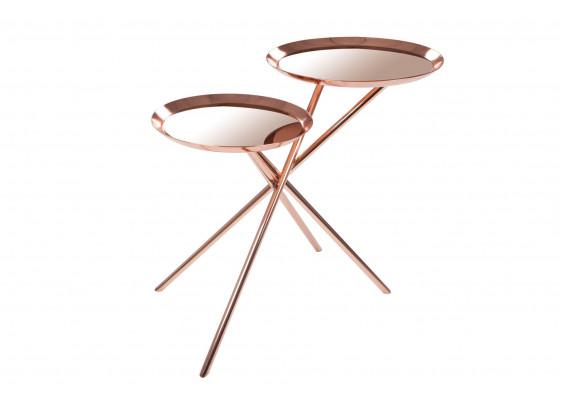 Стол Couple SM110 Rose/Gold