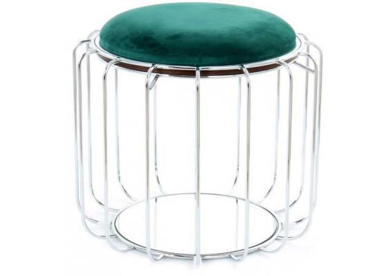Табурет-стол Carl SM110 Darkgreen/Silver