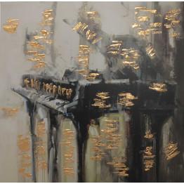 Картина Abstract piano 100х100 cm