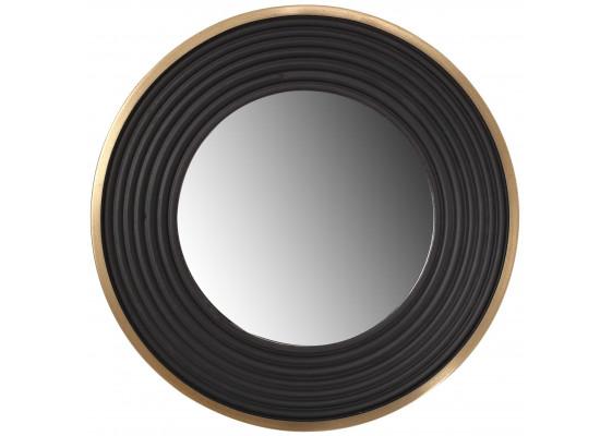 Настенное зеркало Round 725 Gold/Black Ø 38cm