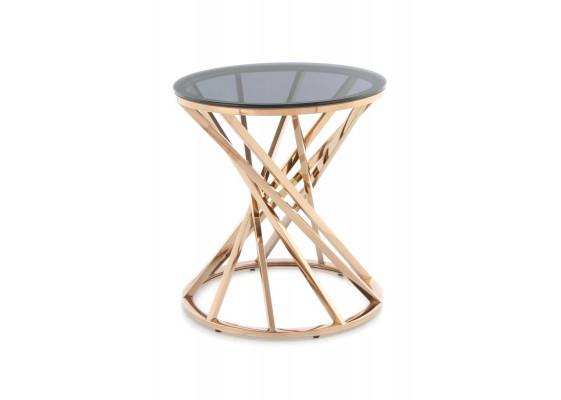 Стол Favor SM125 Grey/Pinkgold