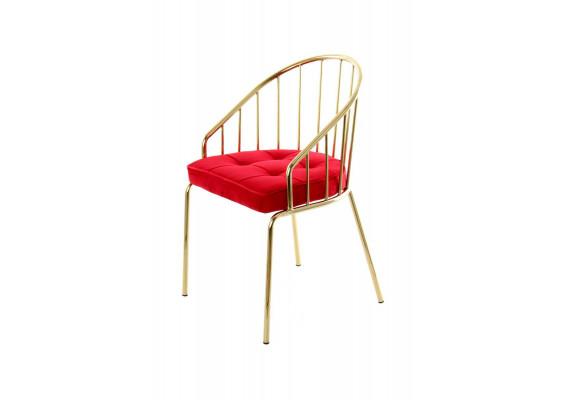 Стул Palmira TM110 Red/Gold