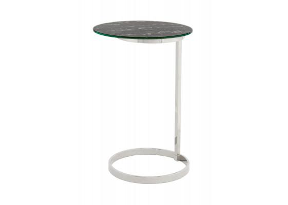 Стол Klark MD525 Silver/Black
