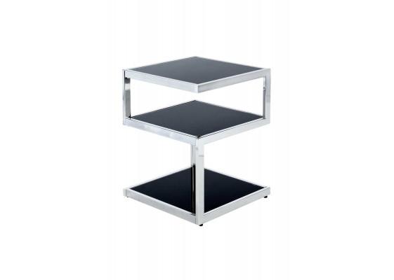 Стол Dilan SM125 Black/Chrome