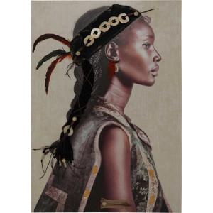 Картина Indian girl 3D 70х100 cm