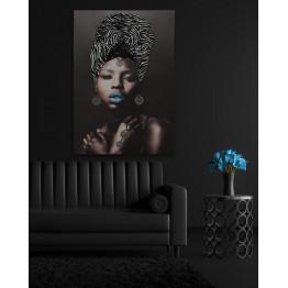 Картина African girl 3D 70х100 cm