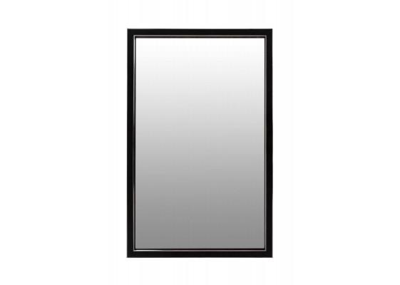Настенное зеркало Tyler S125 Black/Silver