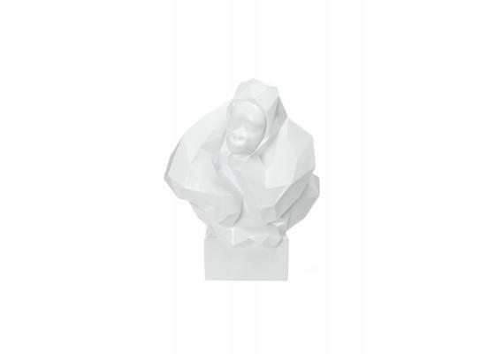 Скульптура Gorilla K210 White