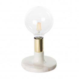 Настольная лампа Dallas KM White/Gold