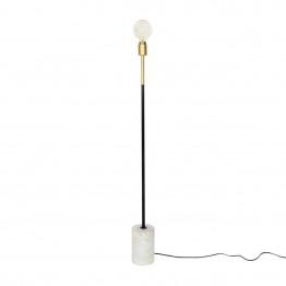 Напольная лампа Garry MK187 White/Brass/Black