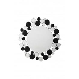 Настенное зеркало Chelsy SM1925 Silver/Black