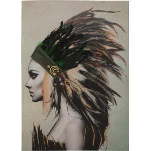 Картина Indian girl II 3D 70х100 cm