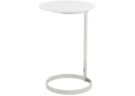 Стол Klark MD525 Silver/White