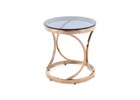 Стол Keno SM125 Grey/Pinkgold