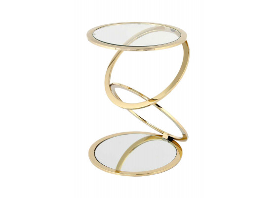 Стол Chain SM525 Gold