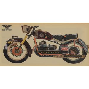 Картина Motorcycle 50х100 cm