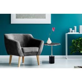 Стол Nani SM525 Silver/Black