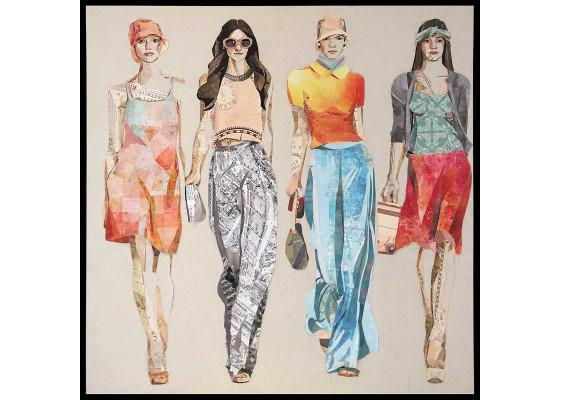 Фреска Models