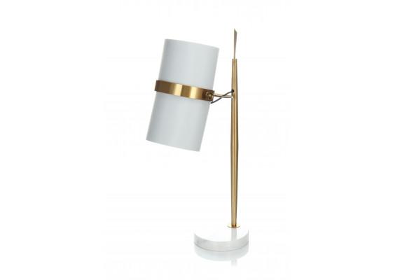 Настольная лампа Novus White/Gold