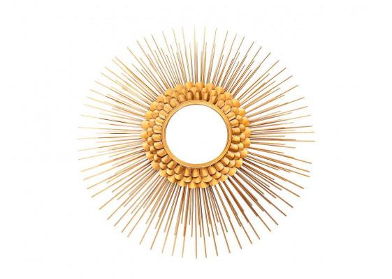 Настенное зеркало Doris SM115 Gold