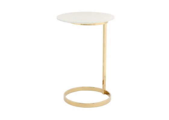 Стол Klark MD525 Gold/White